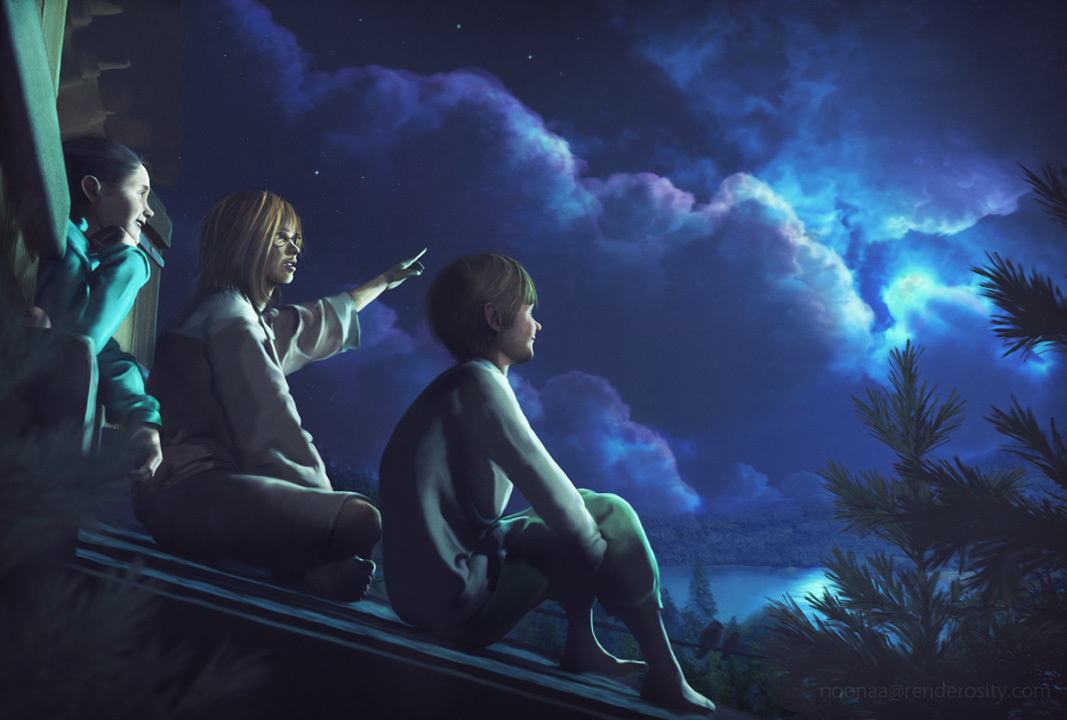 The Sound of The Moon - poser 11.2 by minkura