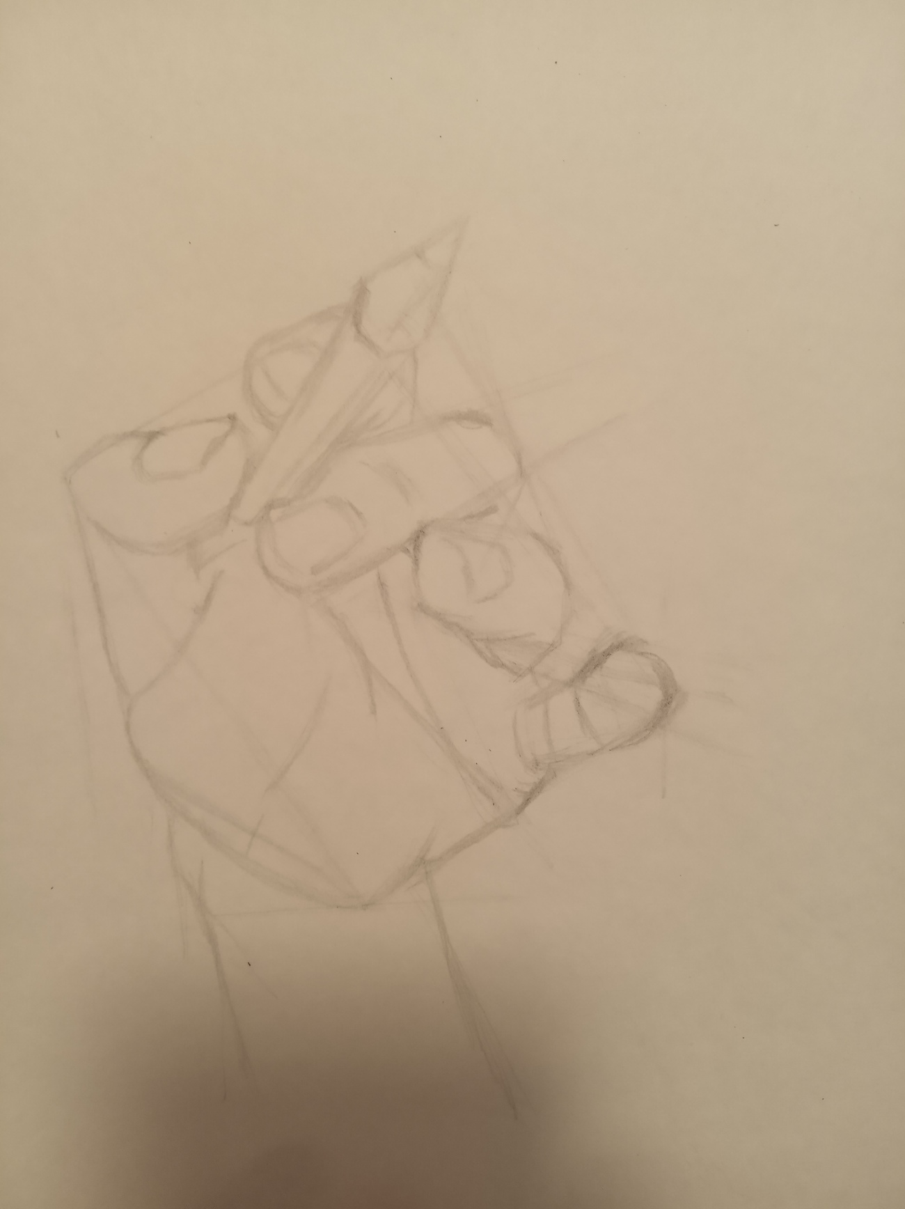 Figuring out construction of a difficult hand pose by tuerda
