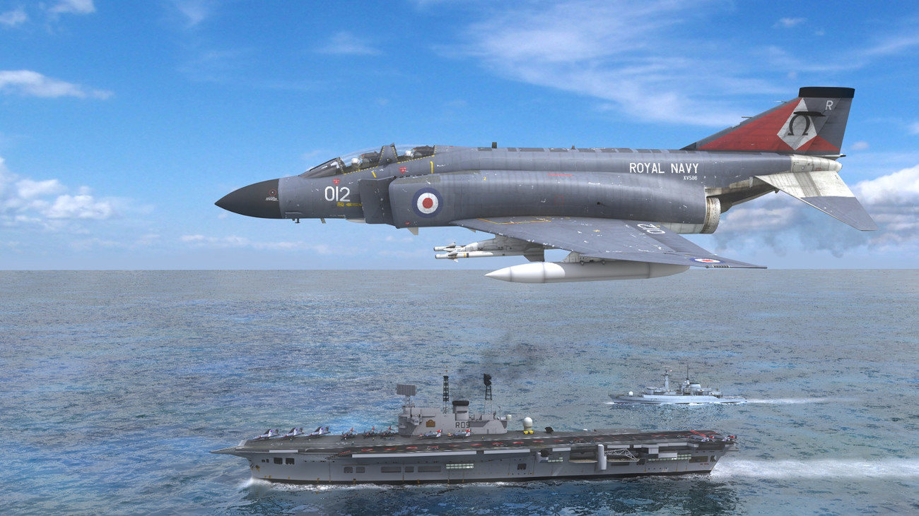 Phantom Over Ark Royal by AliceFromLake