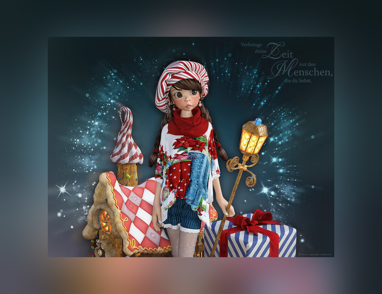 ~*ChristmasLight*~ by Leilana