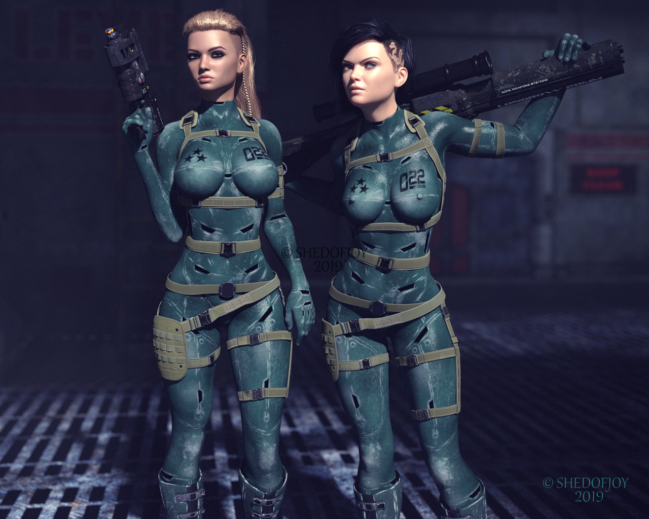 War Girls by shedofjoy