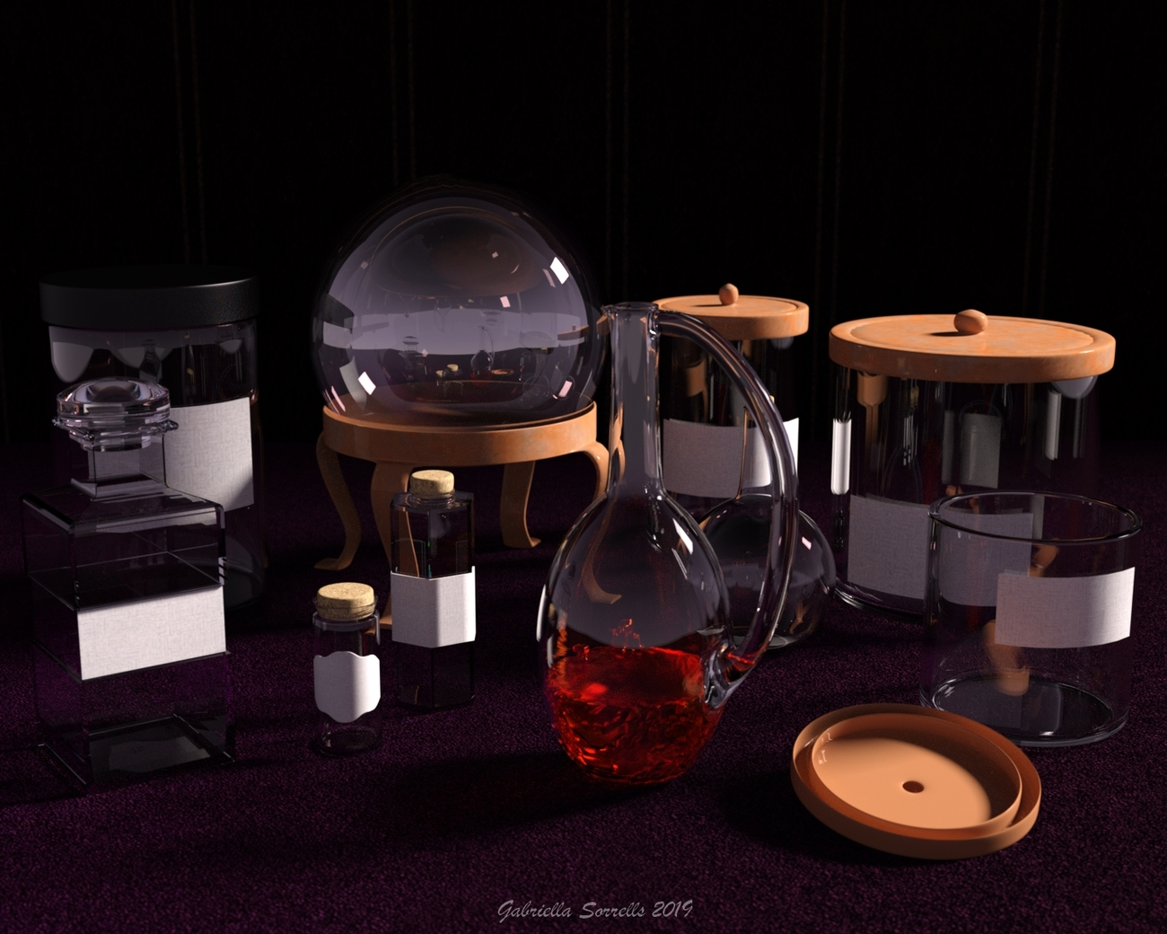 Jars and things by zombietaggerung
