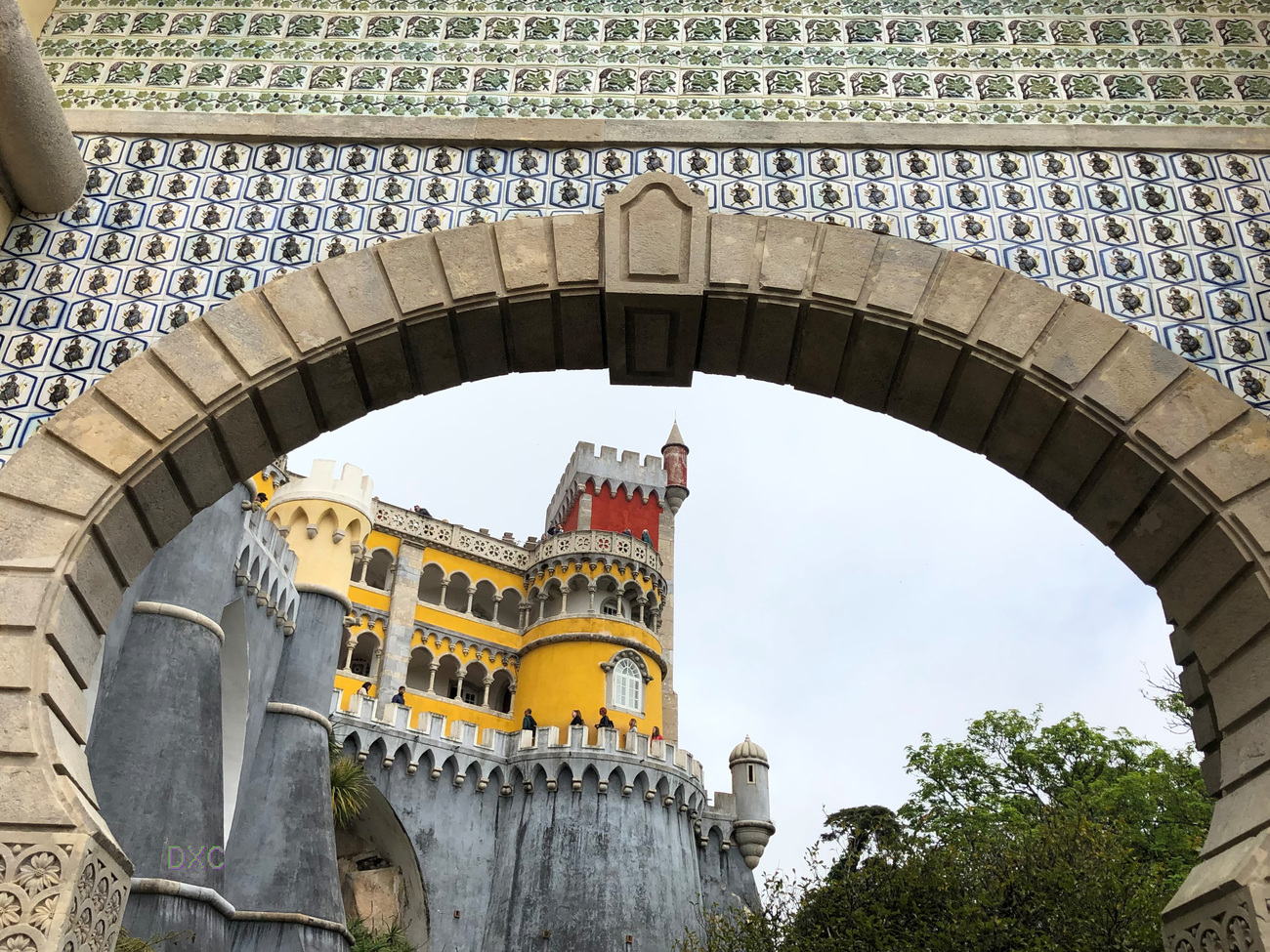 Palace of Pena by DianeD