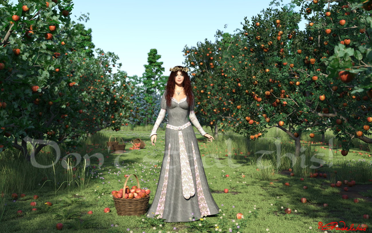 Apple harvest by Crudelitas