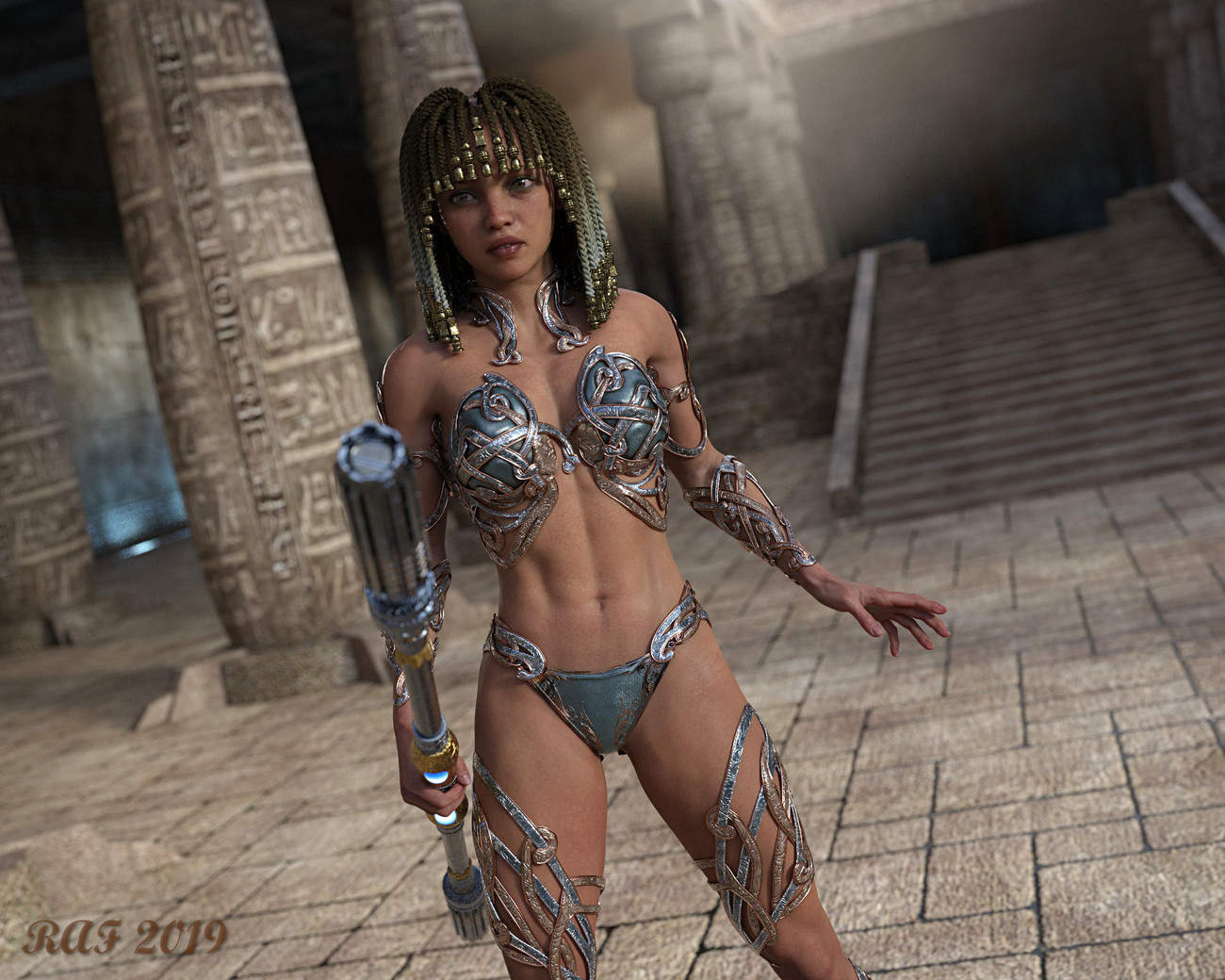 Cleopatra - 2250 AD by DustRider