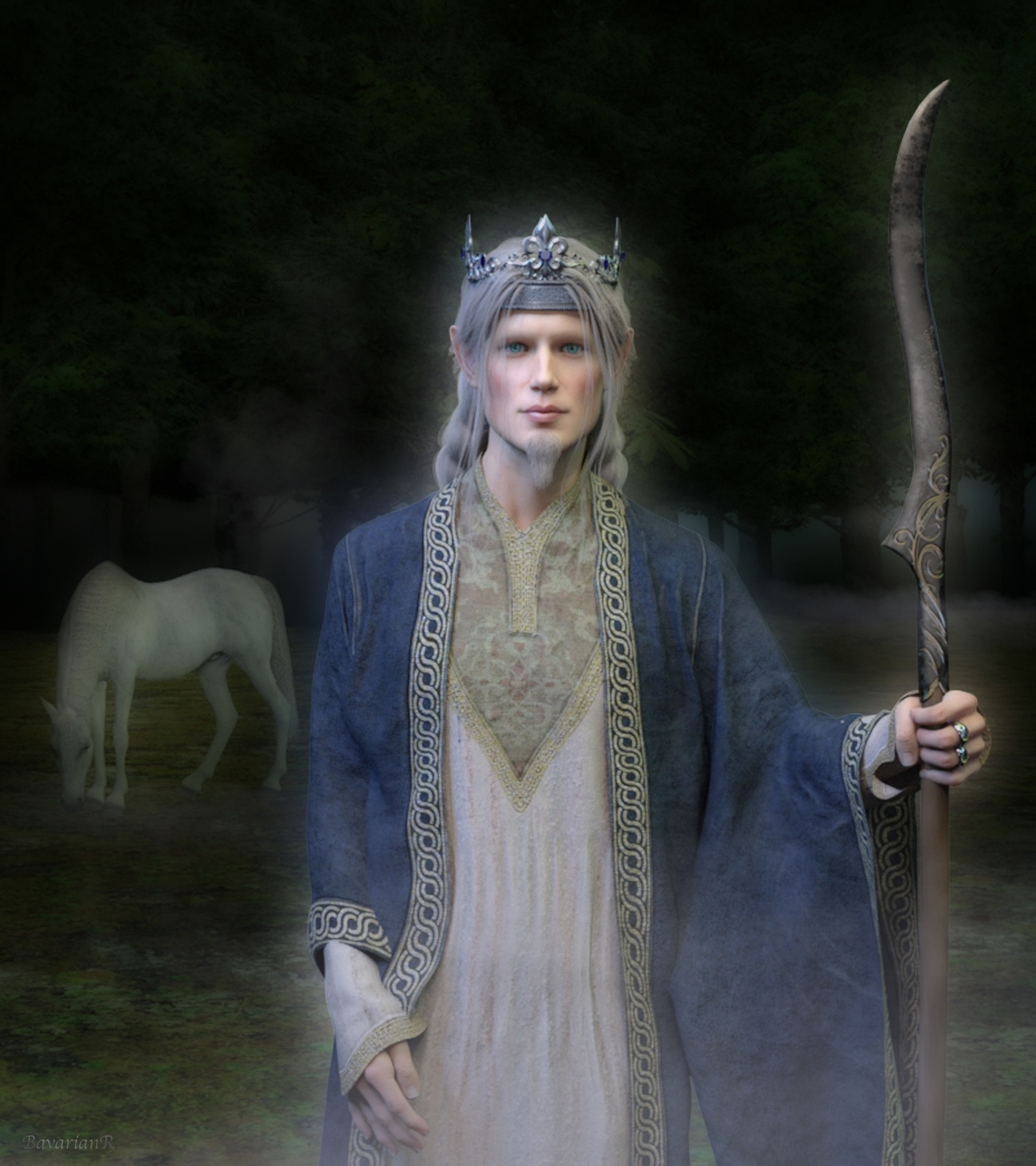 Elven Prince by BavarianR