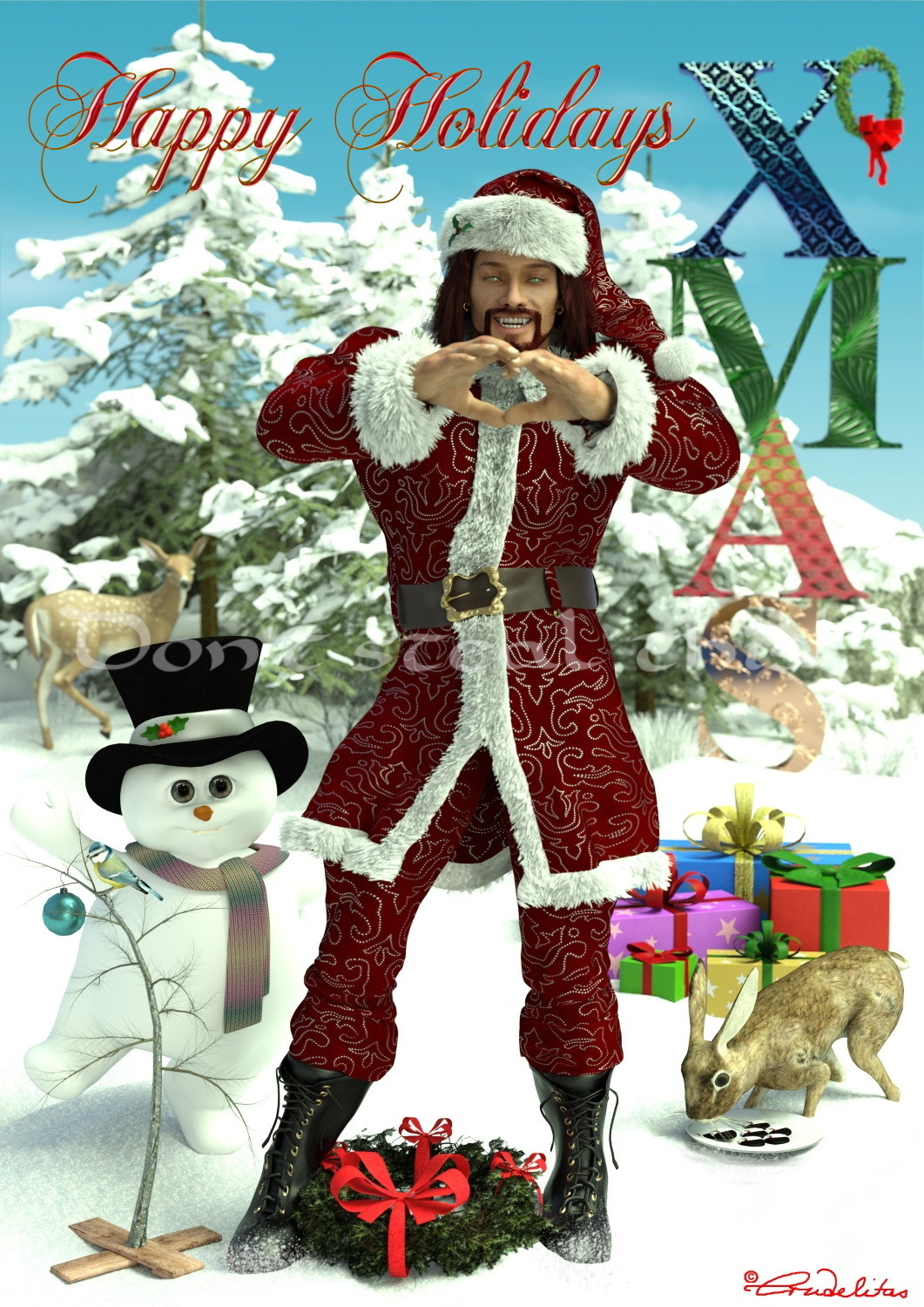 Christmas with Heart for my Rendo Friends