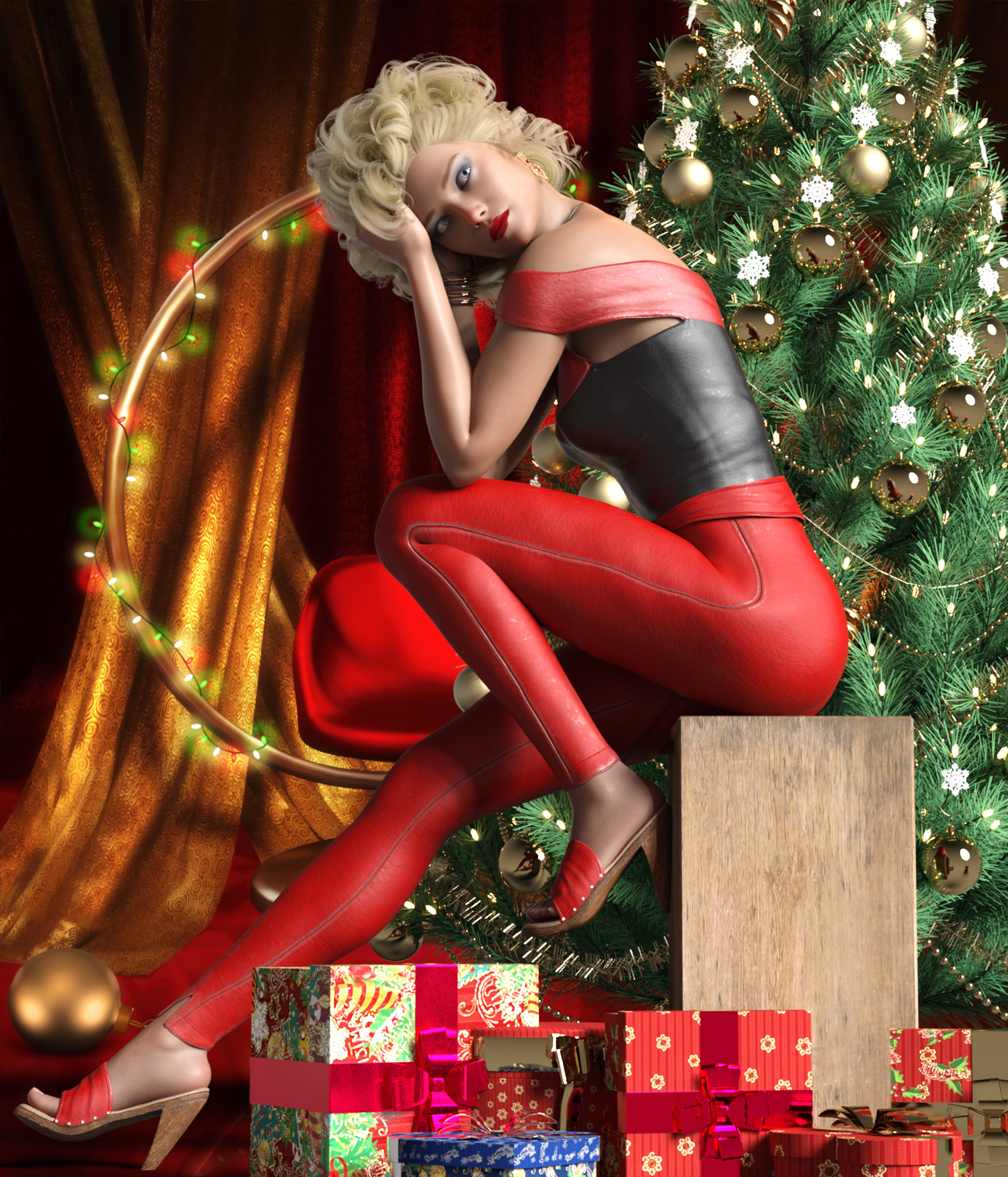 Twas The Night Before Christmas by Deecey