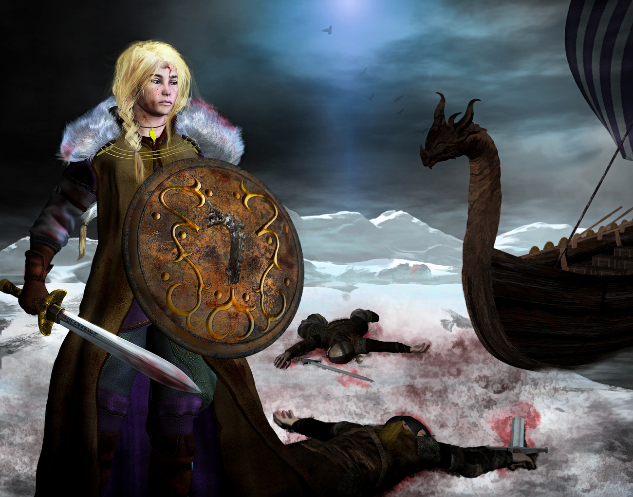 Shield Maiden-The Victory_Revised by Digitell