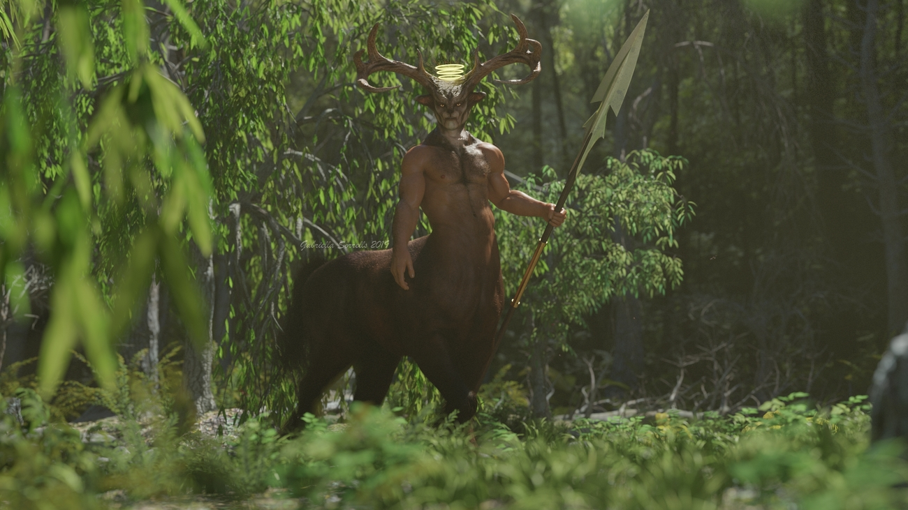 King of the Forest by zombietaggerung
