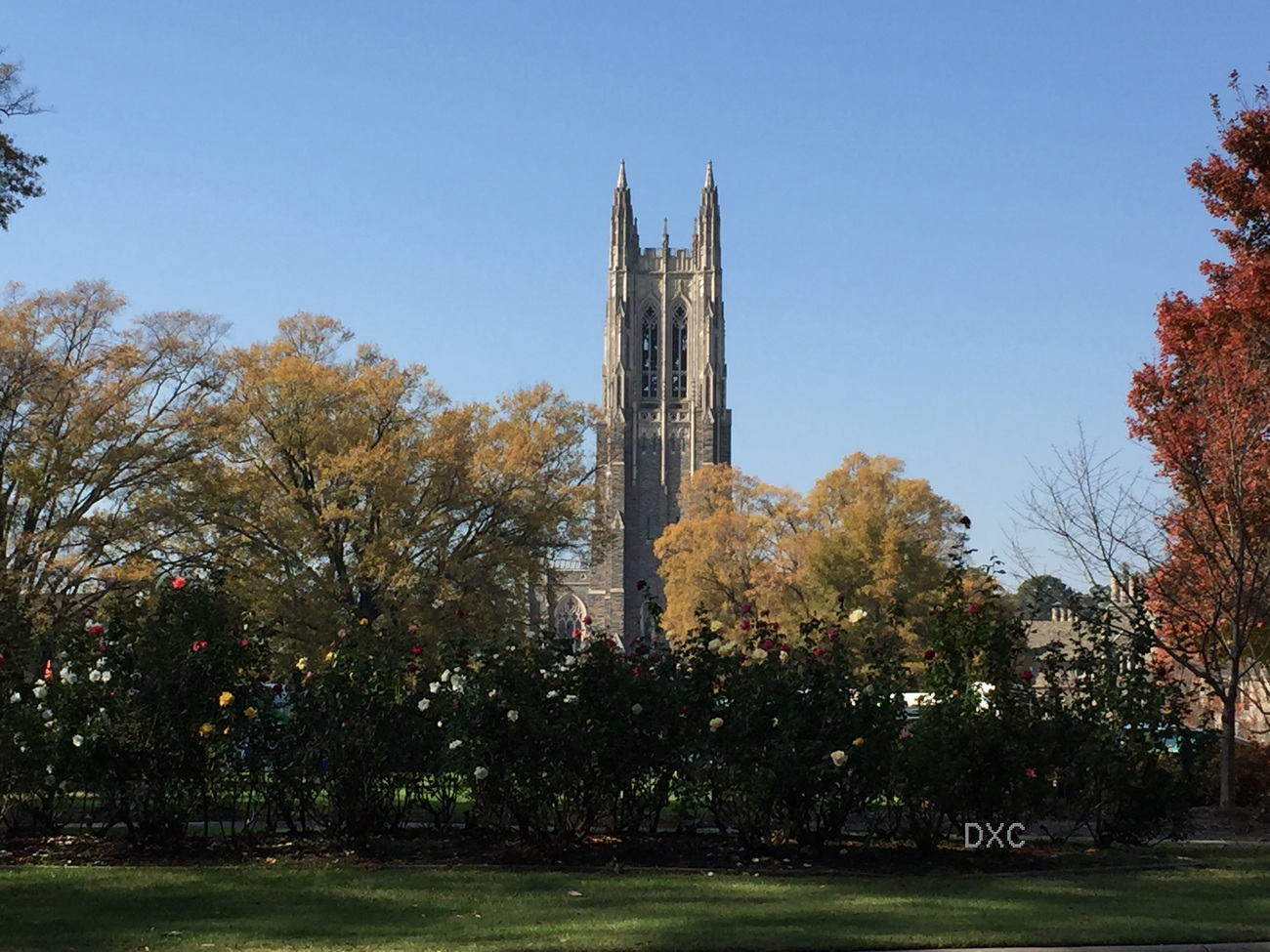 Duke Chapel In The Fall by DianeD