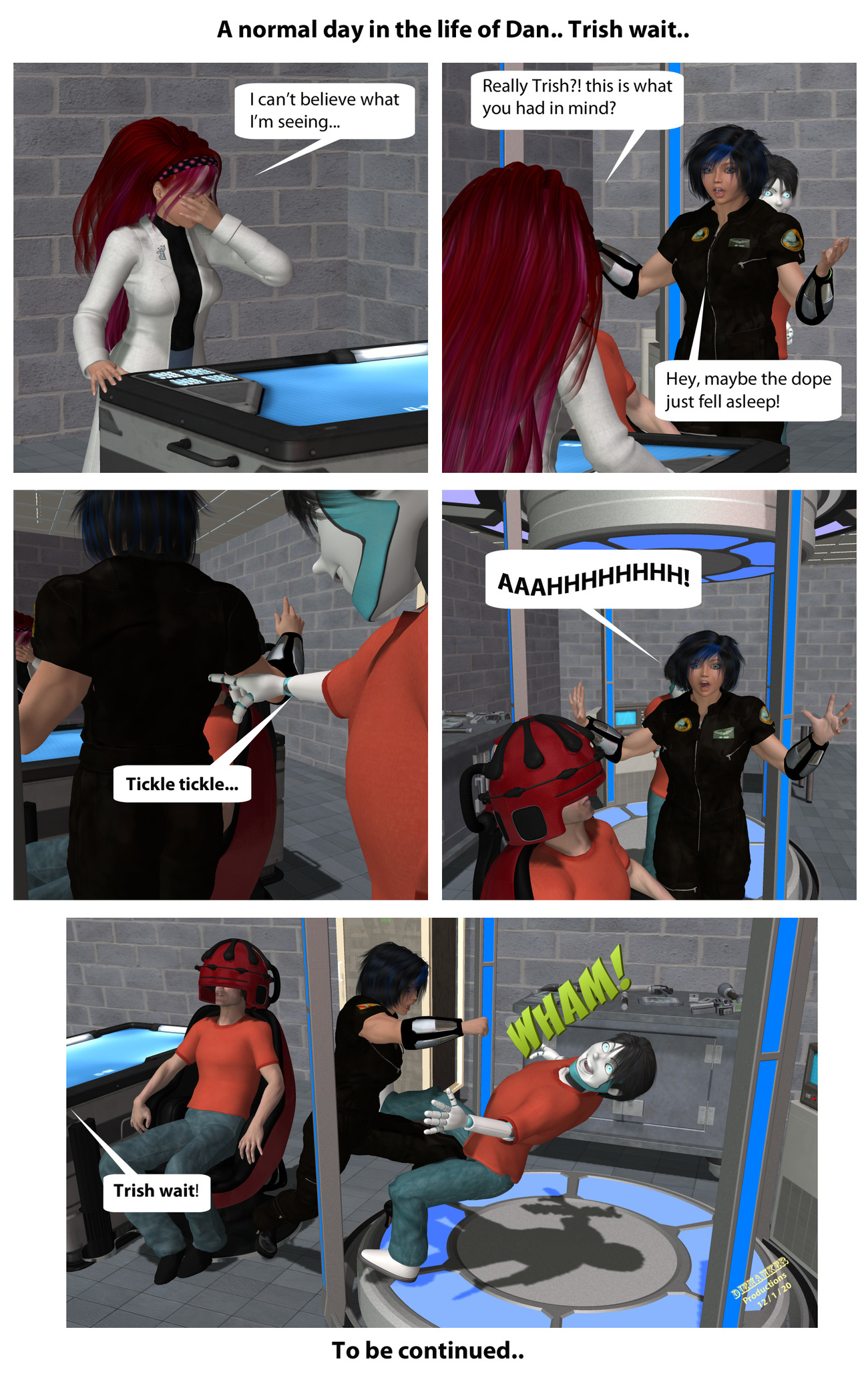 A normal day in the life of Dan... Trish wait!.. by Diemamker