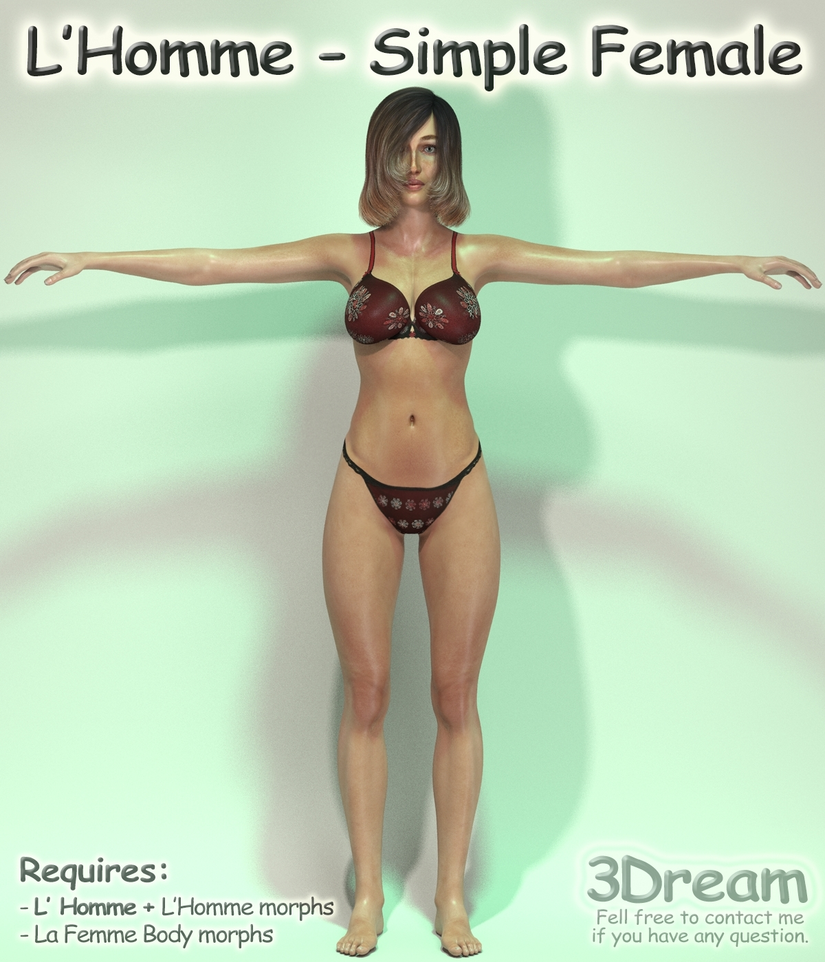 L'Homme - Simple Female by 3Dream