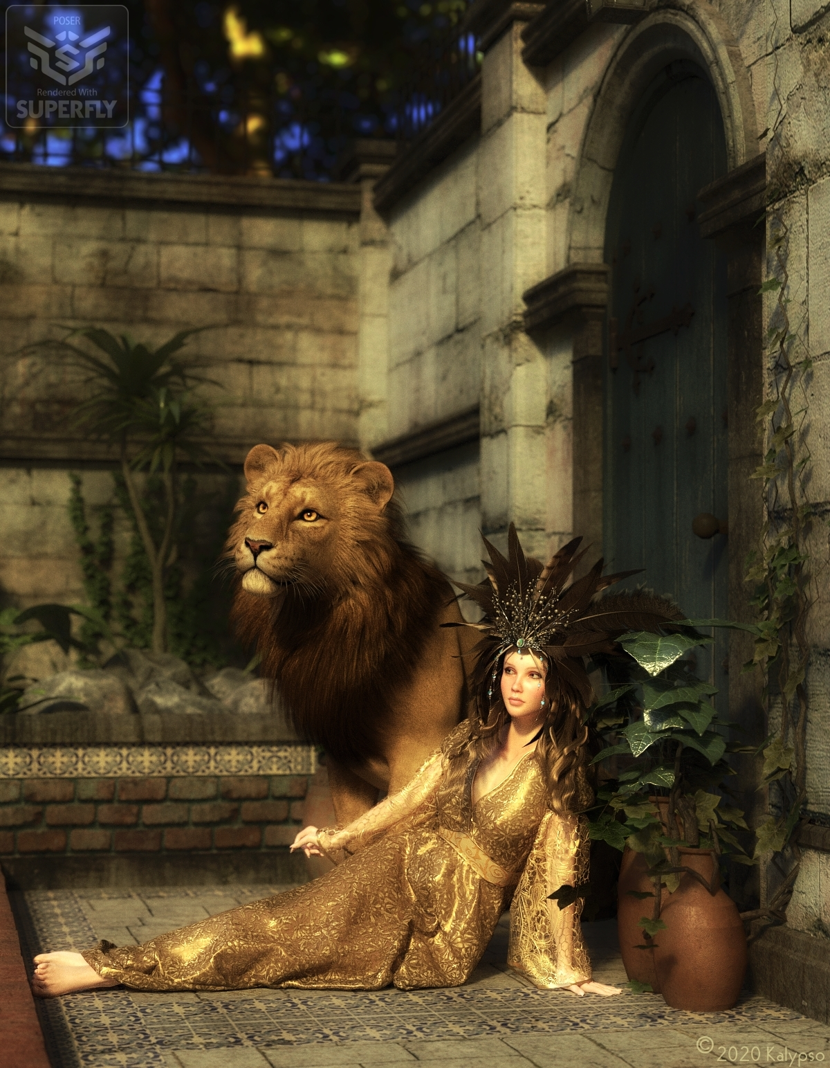 The Lady and the Lion by Kalypso