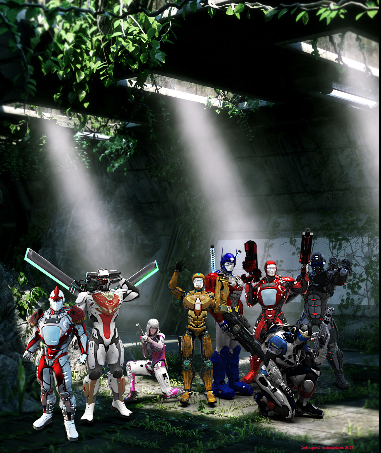 Autobot's in their Secret Base by Vision85