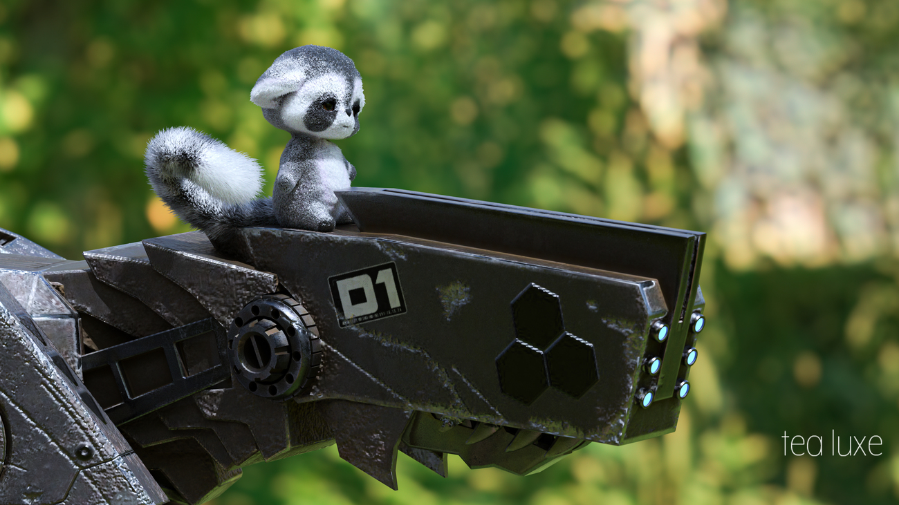 fuzzy and metal - DOF by TeaLux