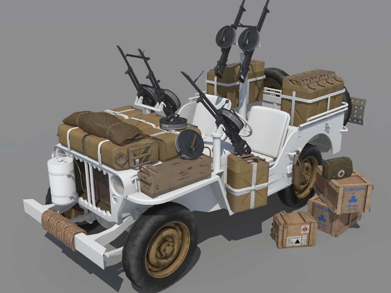 WIP Willys SAS by andreasgr