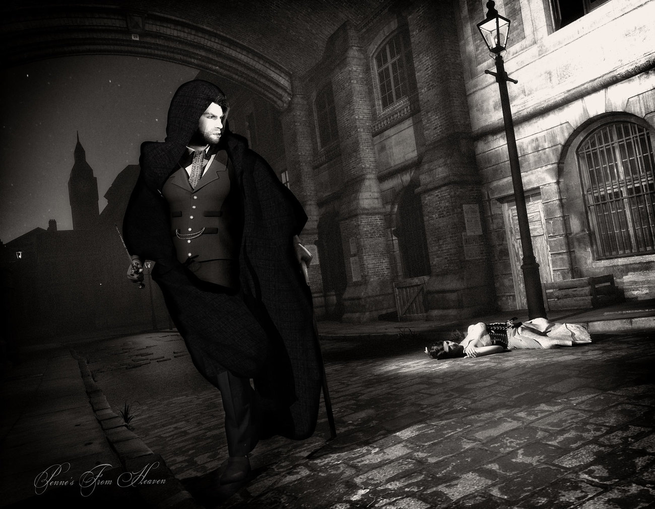 Jack the Ripper by dollmommy