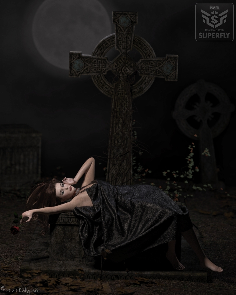 Rose on the Grave of Love by Kalypso