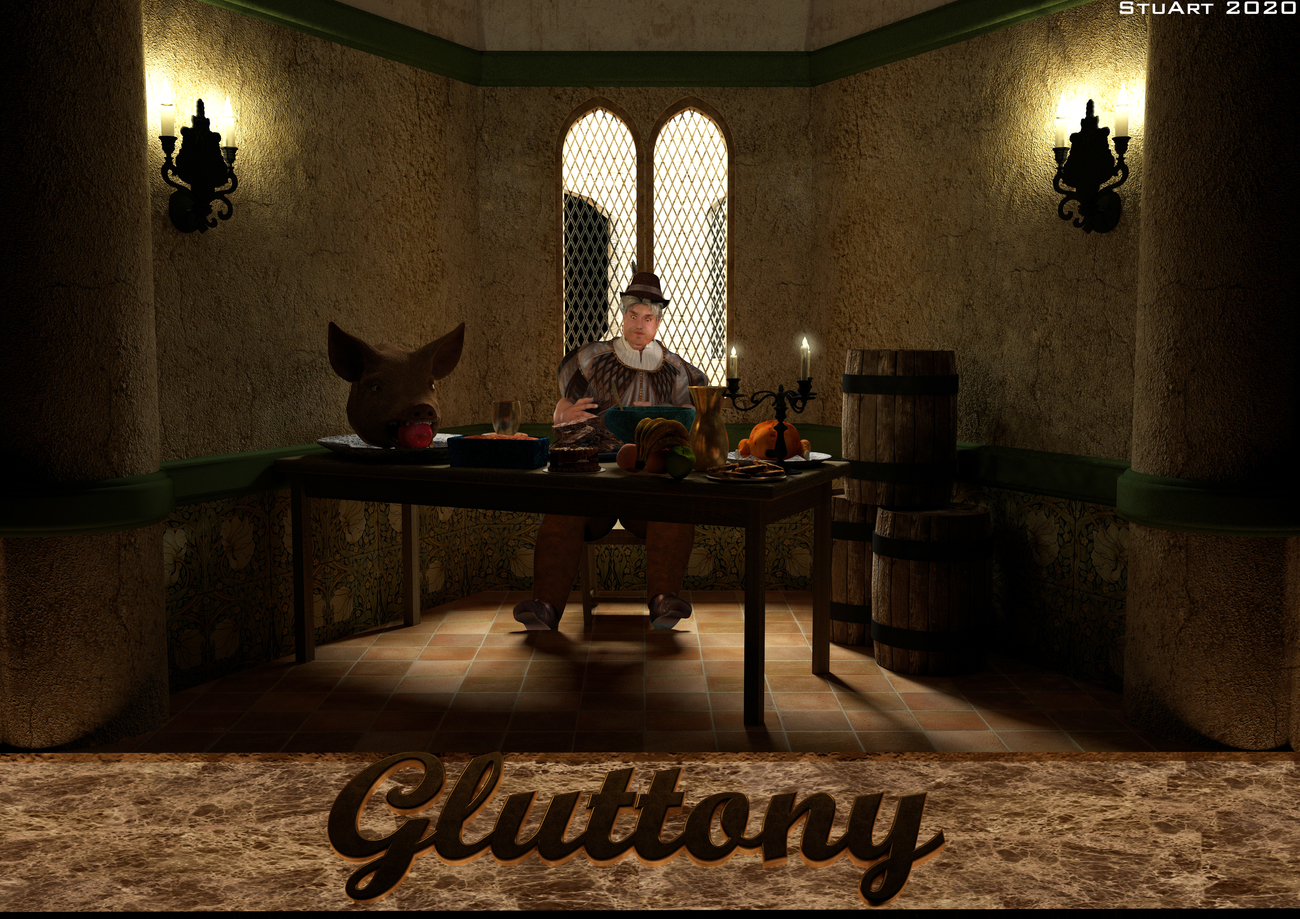 The Glutton by BlueTreeStudio