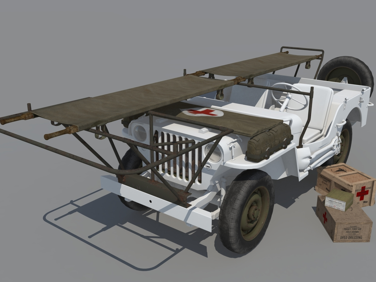 WIP Willys Ambulance by andreasgr