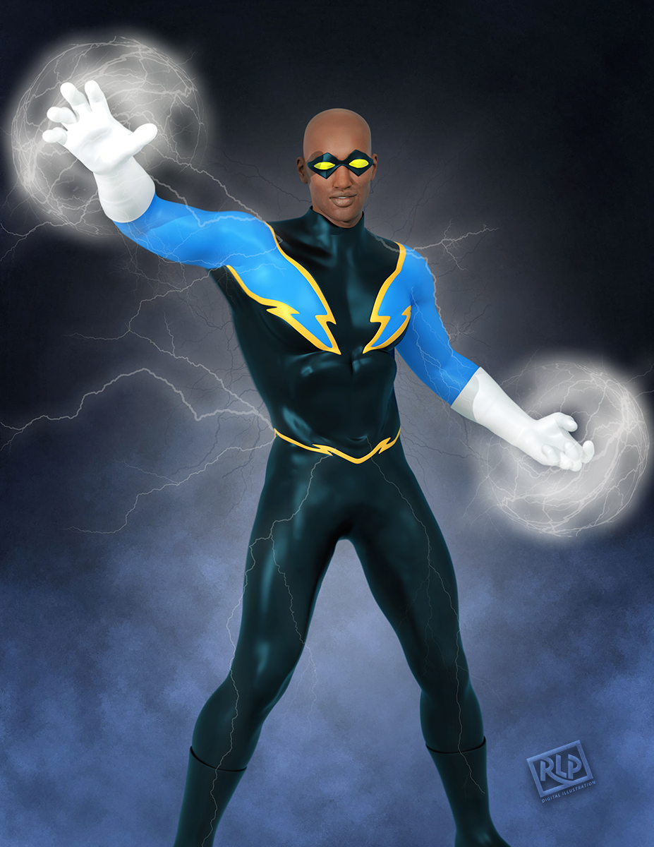 Black Lightning by MrSynnerster