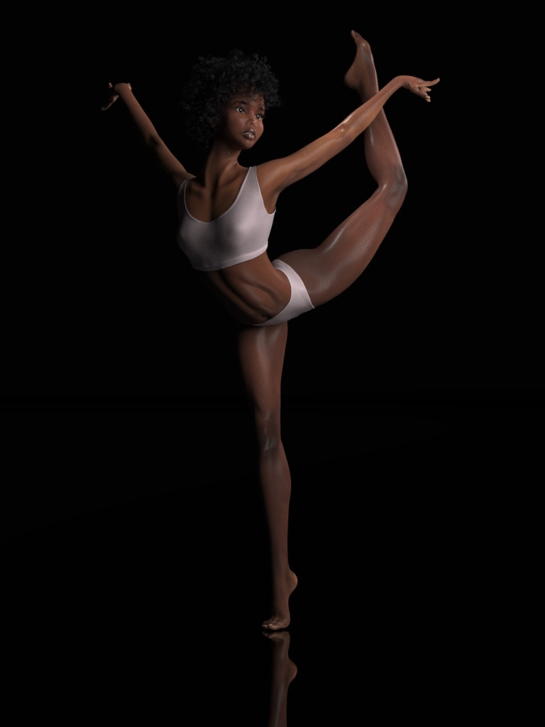 Young Dancer Maya by thoennes
