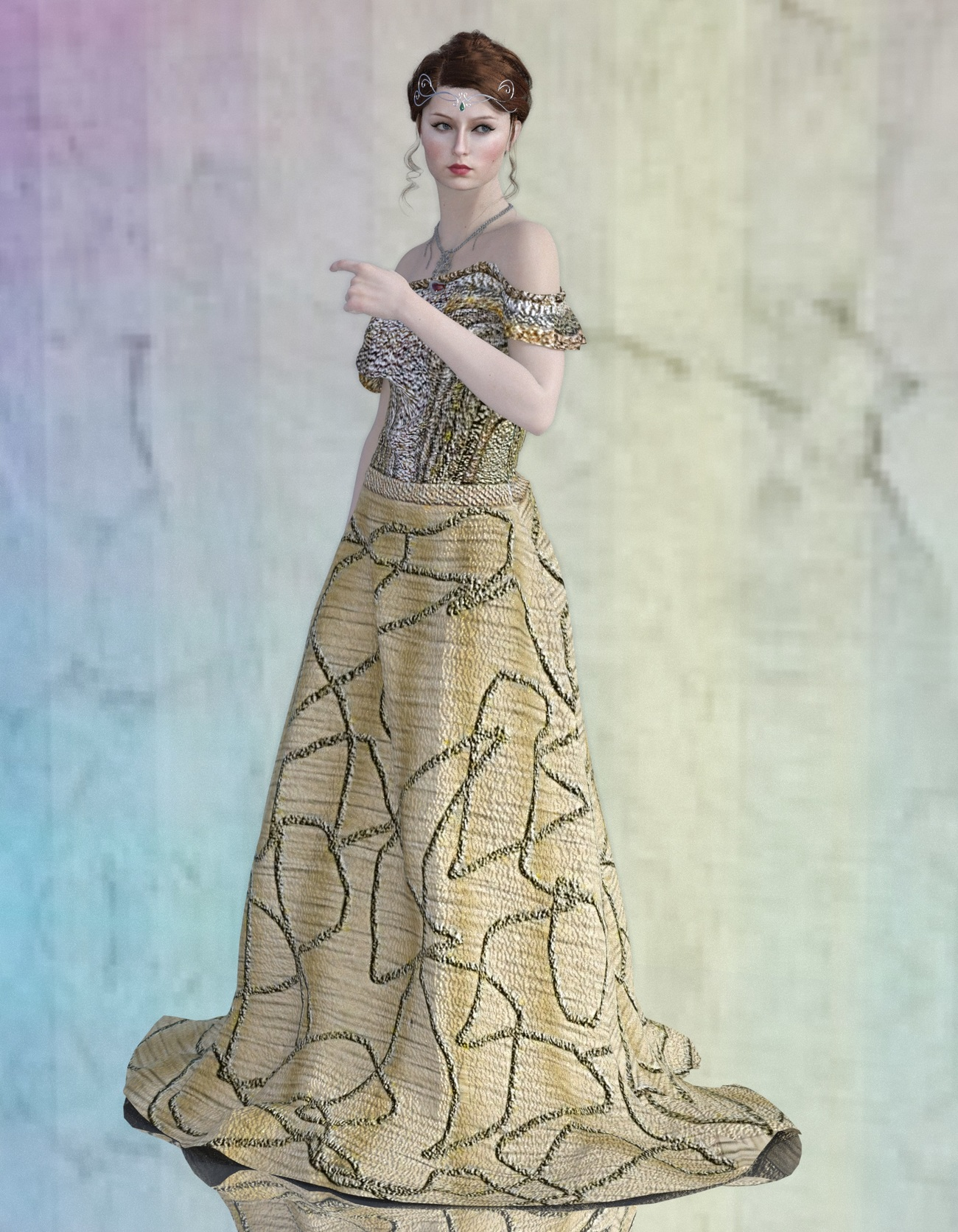 Sensea In Soiree Gown by reizibarrientos