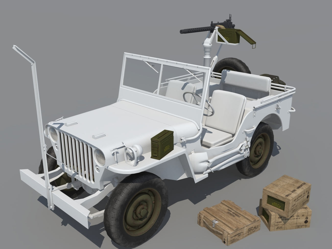 WIP Willys with Browning by andreasgr