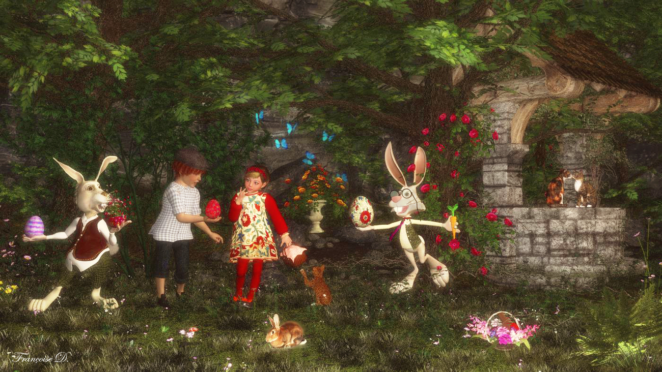 Easter Fantasy by madame