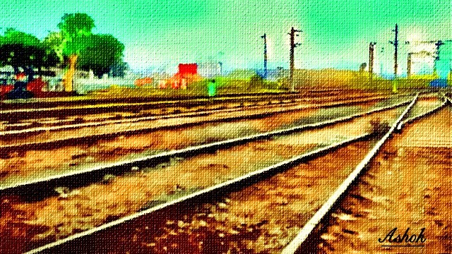 THE RAILWAY LINES by akbundi