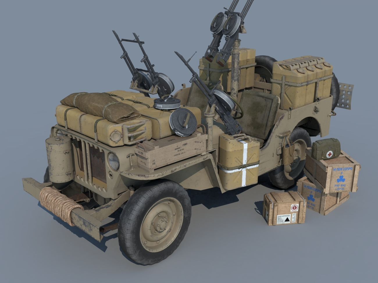WIP Jeep SAS by andreasgr