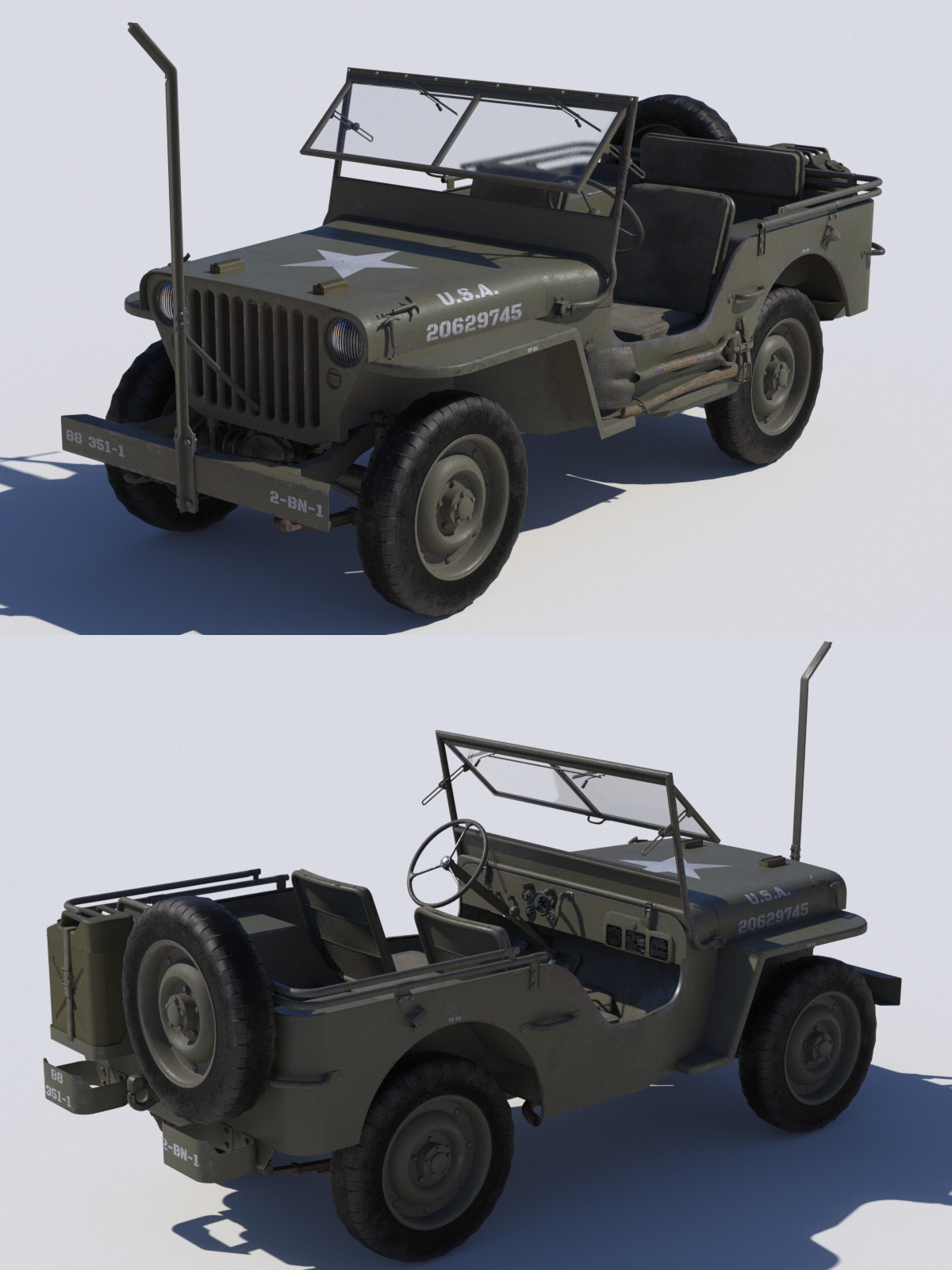 WIP Willys Jeep by andreasgr