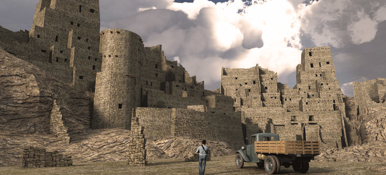 Lost City model for Obj/fbx.. by London224