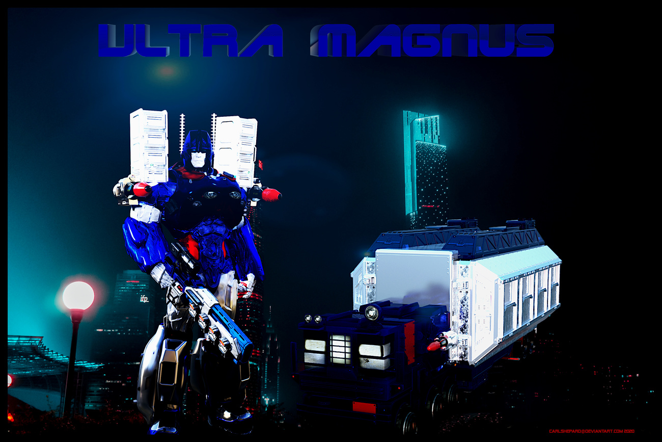 Ultra Magnus Roll!! by Vision85