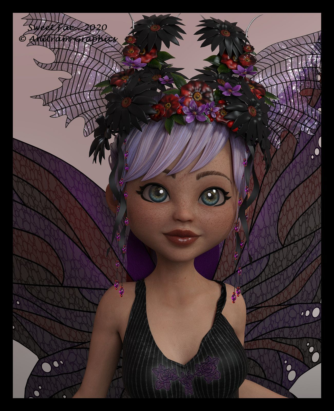 Sweet Fae...2020 by AnitramE