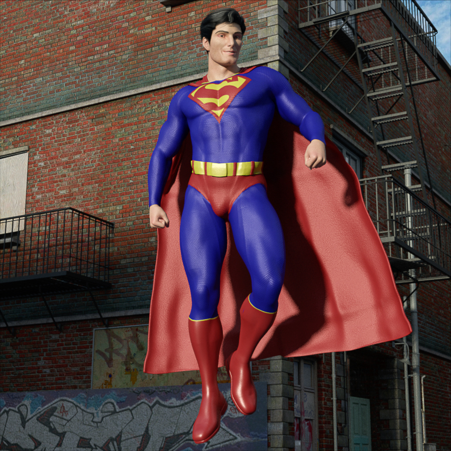 A Parting Smile from Superman by Iuvenis_Scriptor