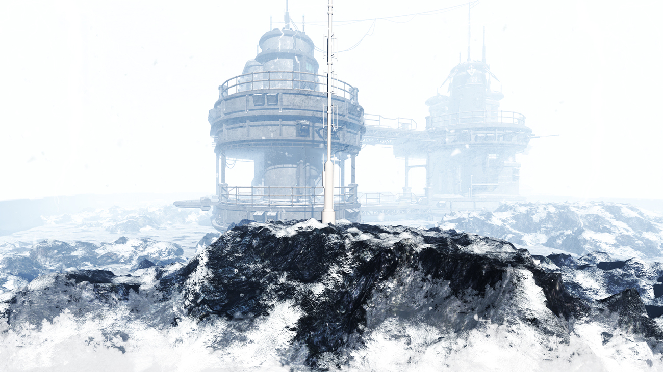 Ice planet by Lorraine