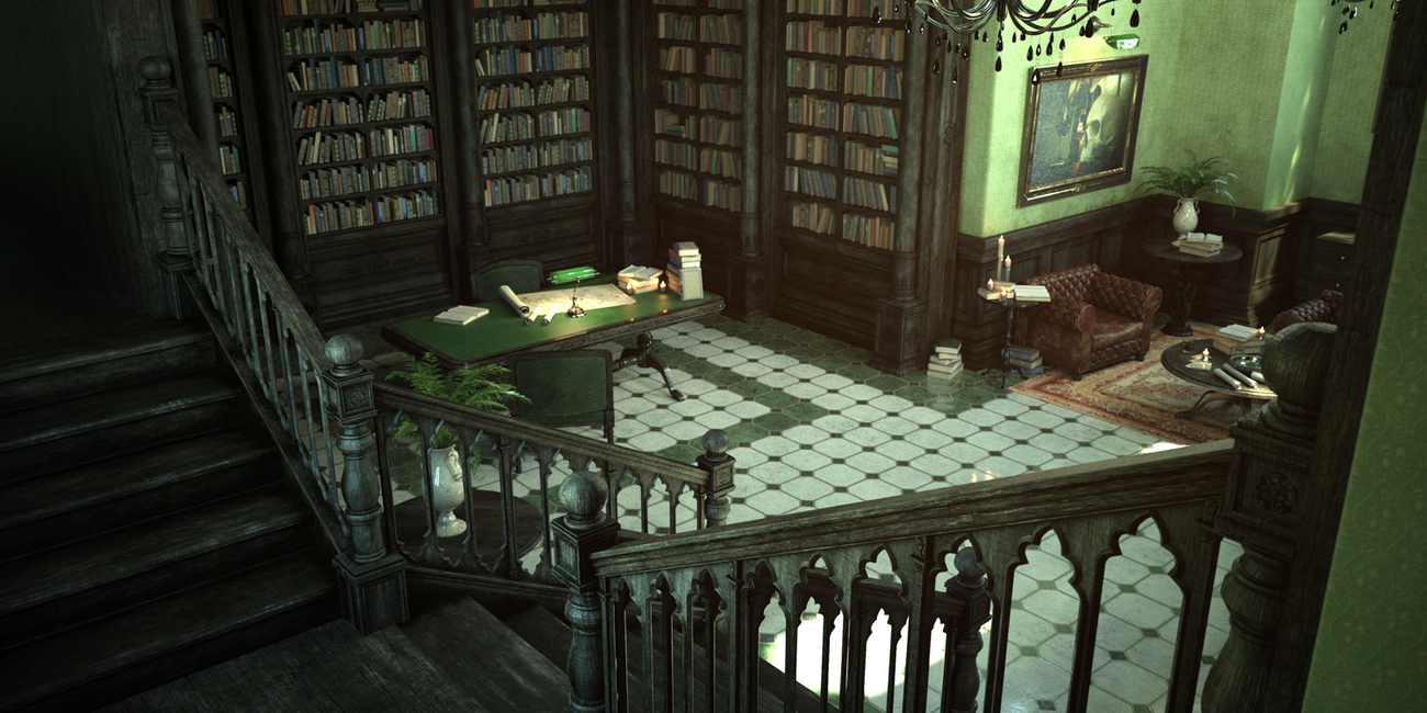 Library by Lorraine