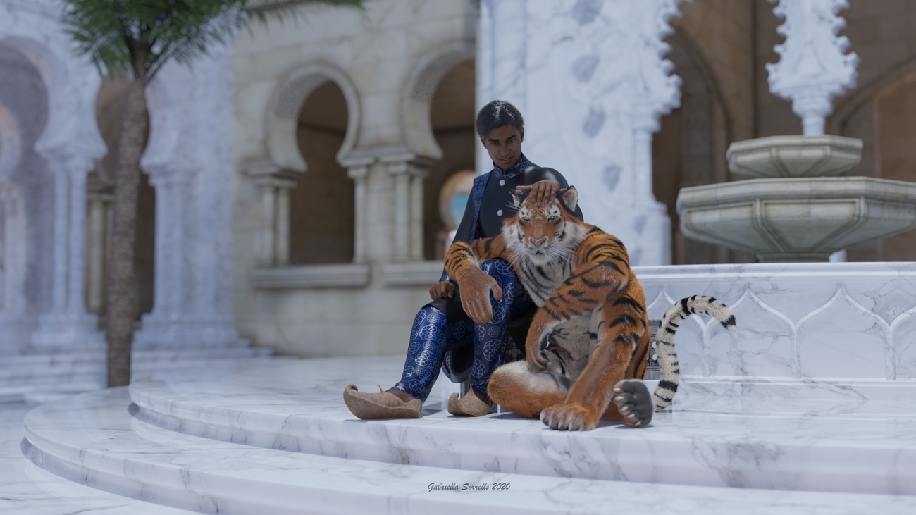 Javed and Rajah by zombietaggerung