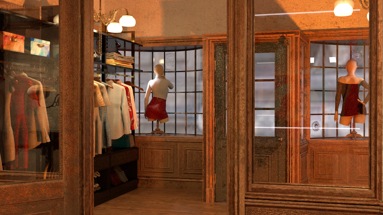 Counting House Boutique Interior by MarkCM