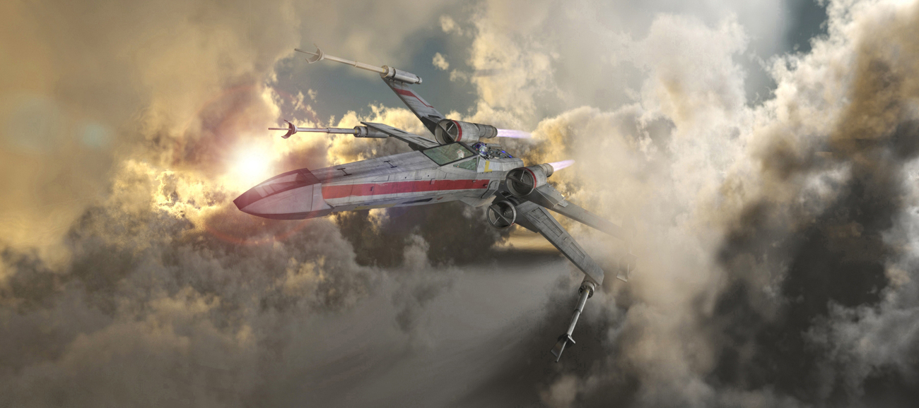 Red 5....Return from Dagobah.... by Darkglass