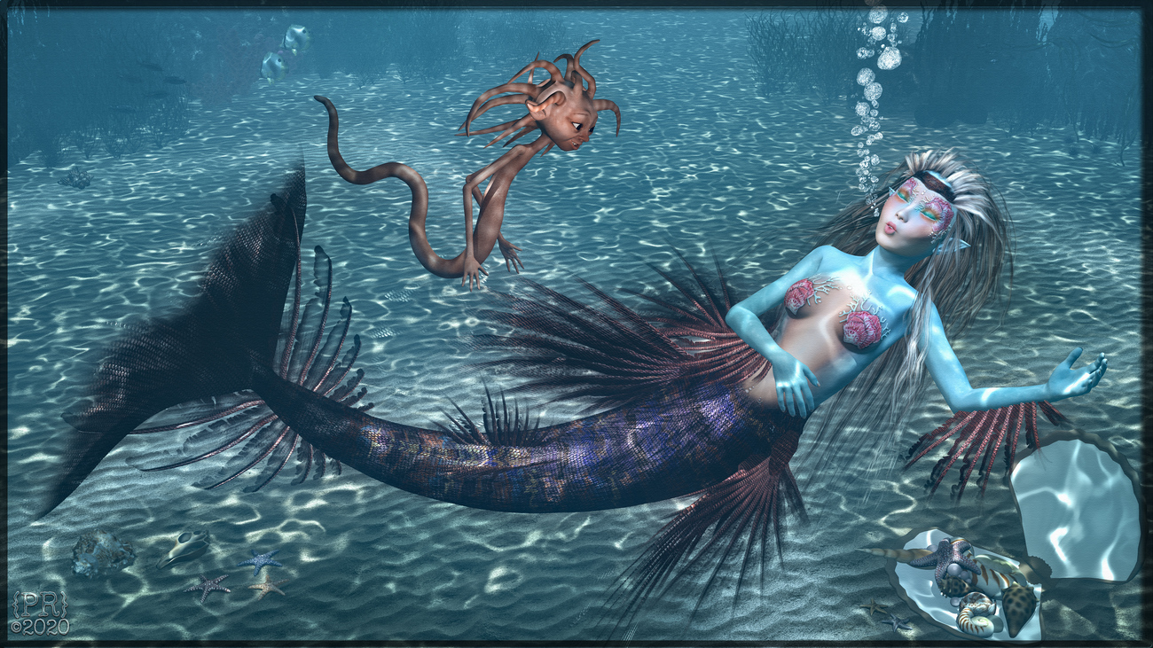 Upon the Study of Mermaids by perpetualrevision