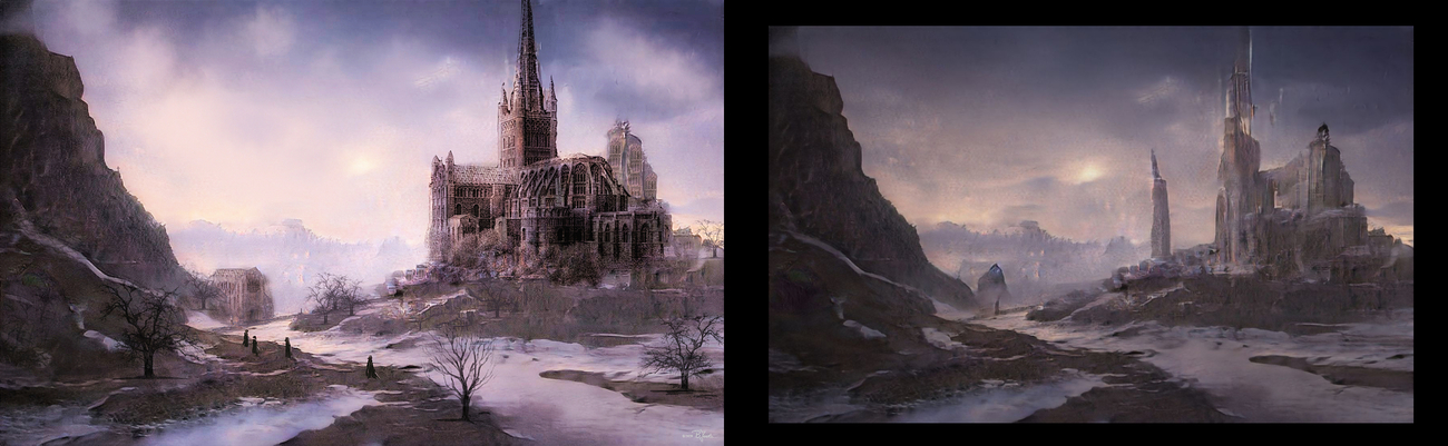 Cathedral by mermaid