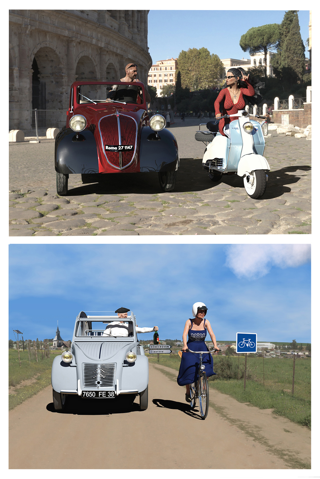 Cruising in Italy....and in France ! by gaius