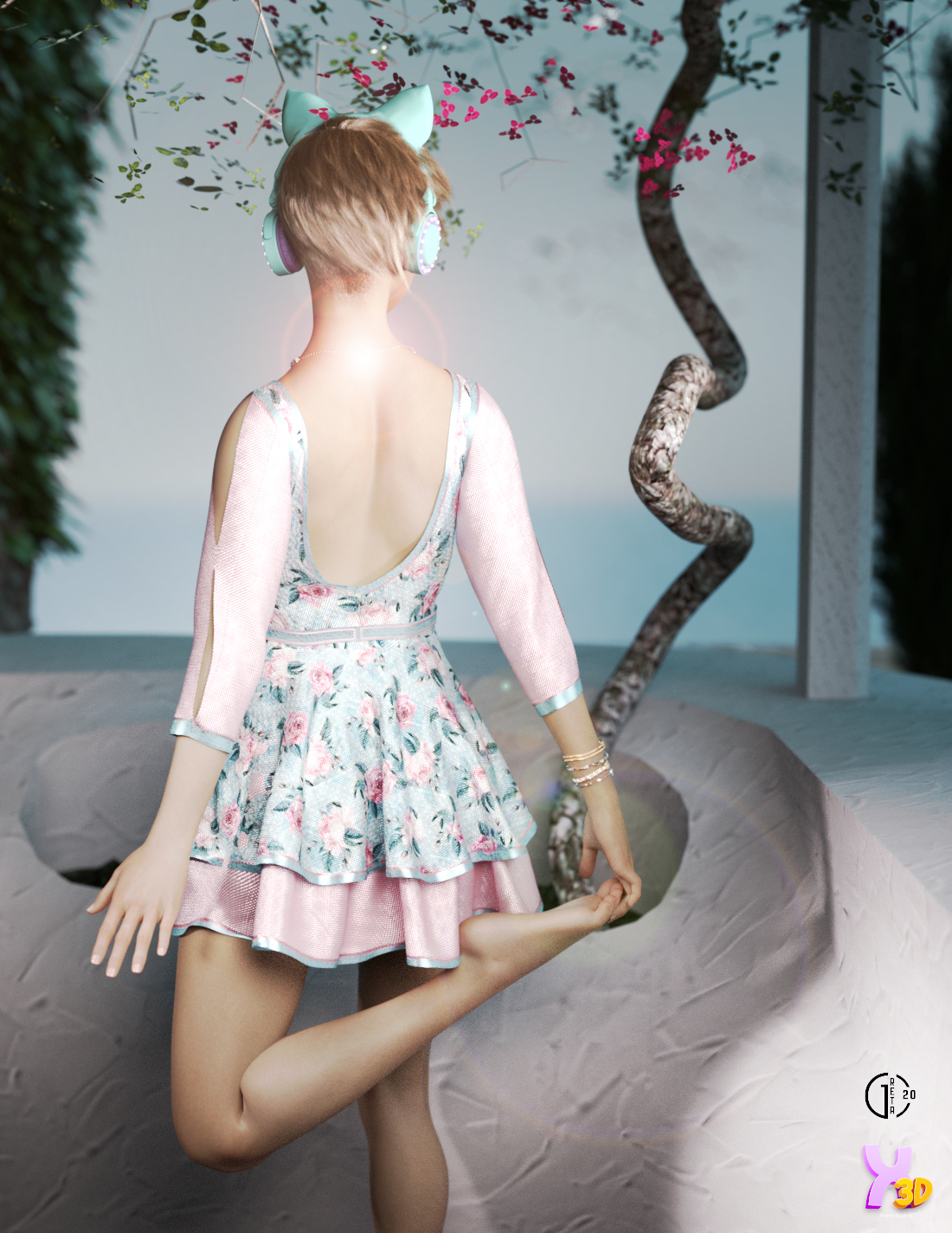 Charm June Holiday Dress & EX