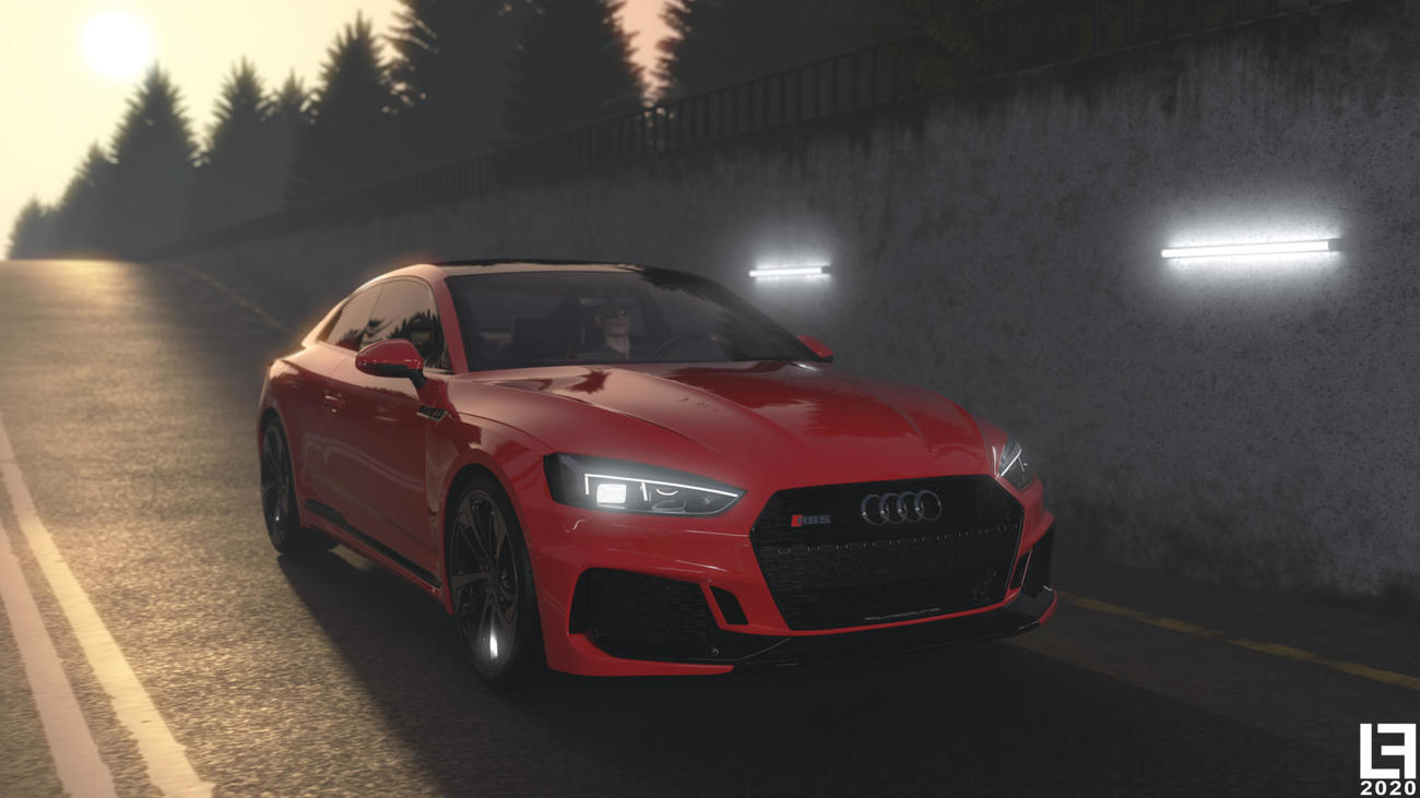 Audi RS5 - Tunnel