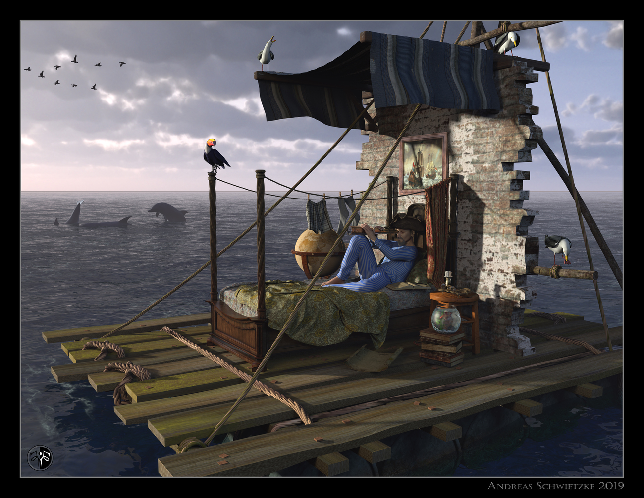 The last journey of Sir Andrew S. by arteandreas