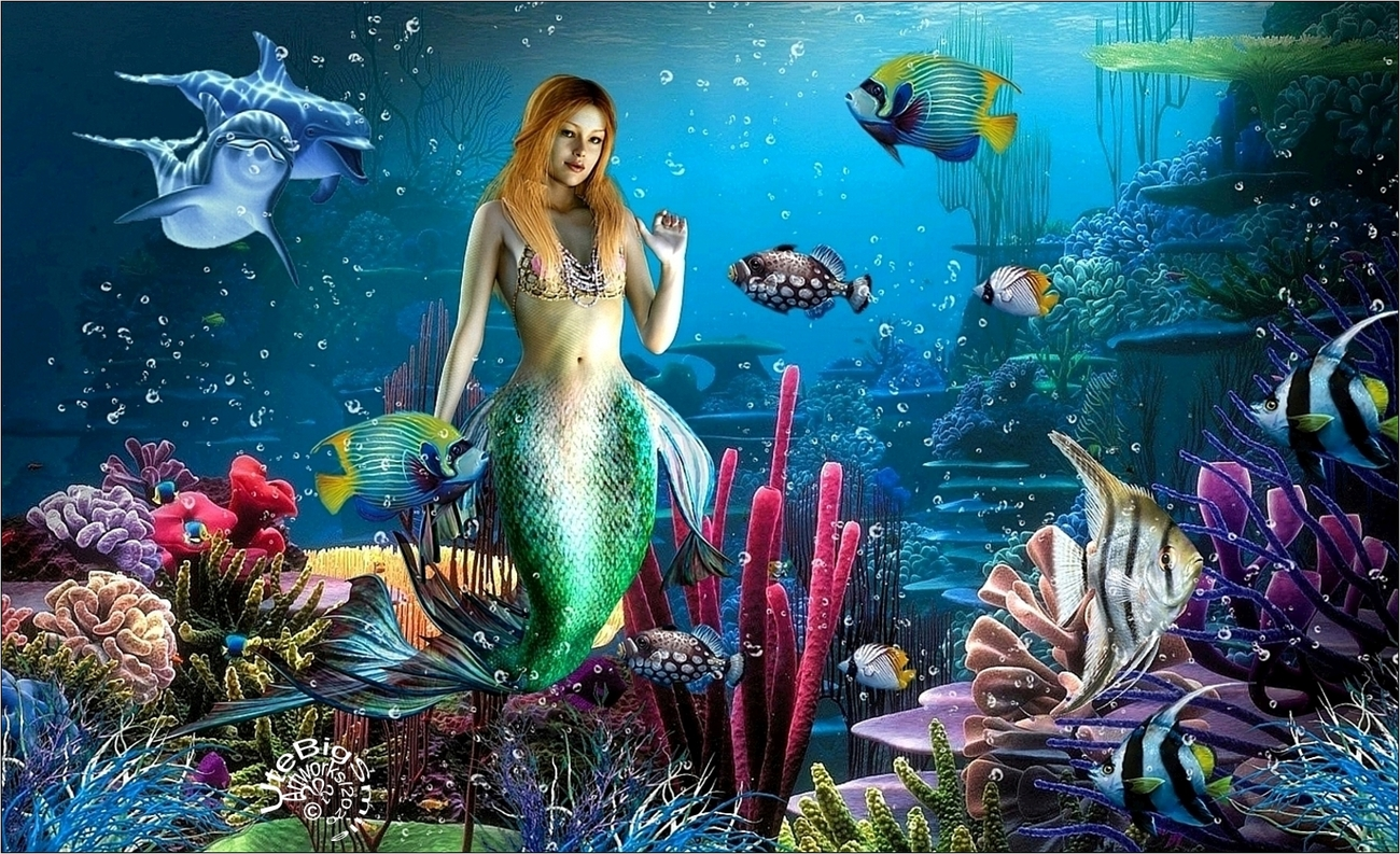 Life at the Coral-Reef (for Terese) by UteBigSmile