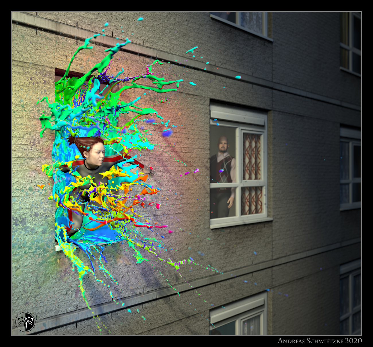 Exploding creativity by arteandreas